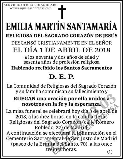 Emilia Martín Santamaría